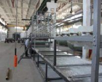 Линия по производству стеклопластиковых листов шириной 1500 мм