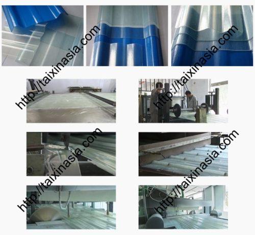 Оборудование для производства стеклопластиковых листов
