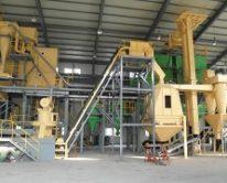 Линия по производству пеллет и топливных гранул
