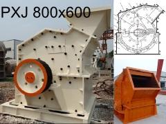 Роторная дробилка PXJ 800х600